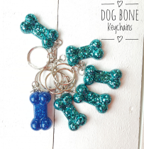 Dog Bone Key Chains