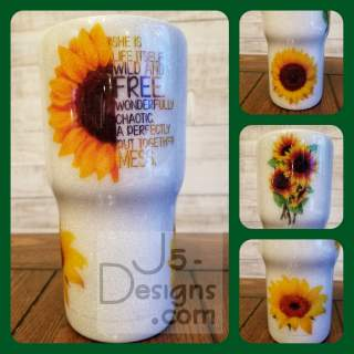 Sunflower Tumbler