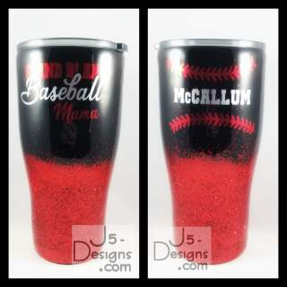 Glitter Tumbler with 2 or more colors