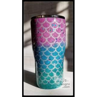 Glitter Mermaid Cup